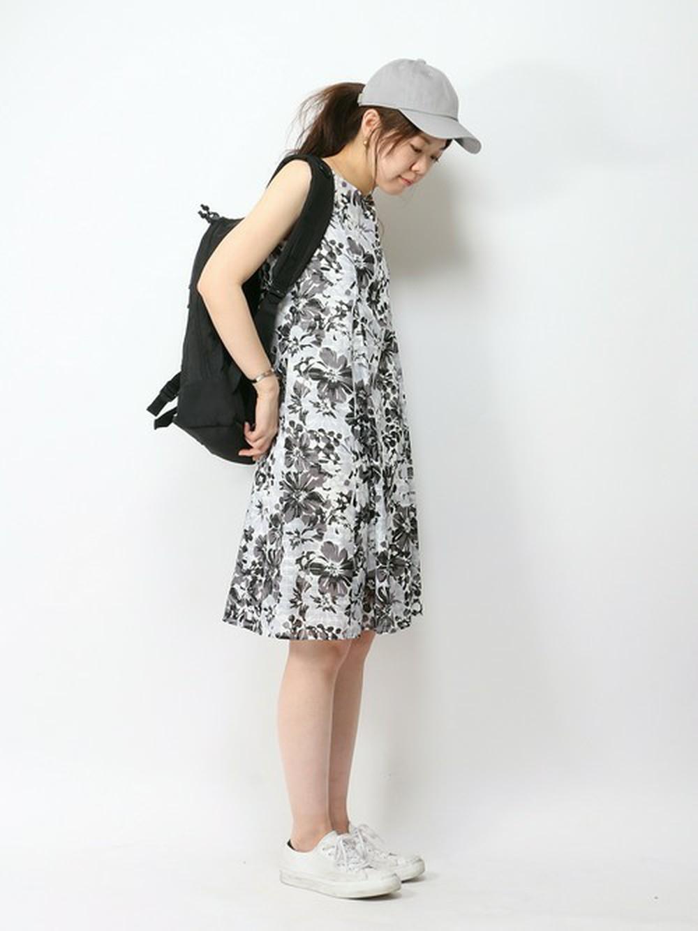 花柄ワンピース コーデ 夏 40代