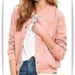 ブルゾンのコーデ!春に着るなら一着はほしいピンク!