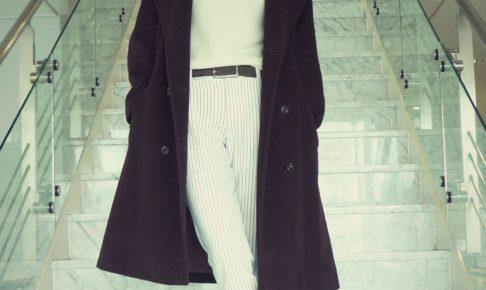 40代 ファッション カジュアル Vネック