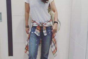 ファッション カジュアル 40代 夏 コーデ
