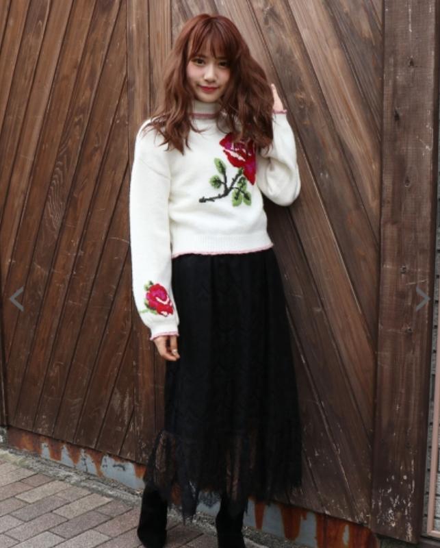 マキシスカート 秋 コーデ ファッション