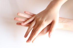 指 きれい